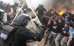 Полиция расправляется с террористами еврейской национальности