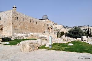 Угол Западной и Южной стены Храмовой горы