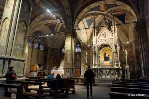 Церковь Орсанмикеле внутри