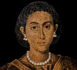 Портрет знатной римлянки (Галла Плацидия?)